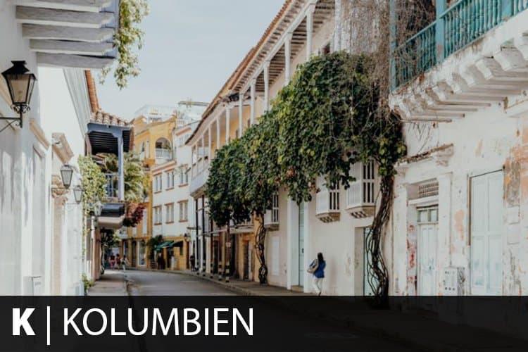 Reiseziel Kolumbien
