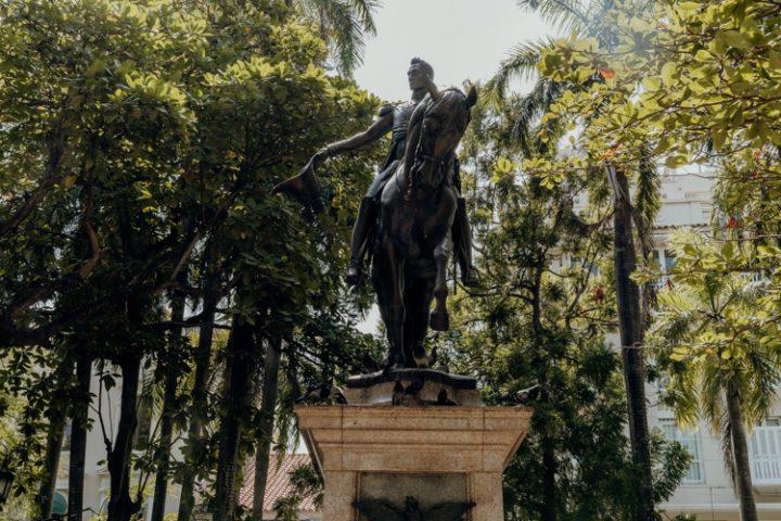 Die Plaza de Bolívar Cartagena