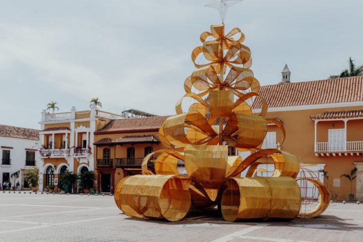 Die Plaza de la Aduana in Cartagena