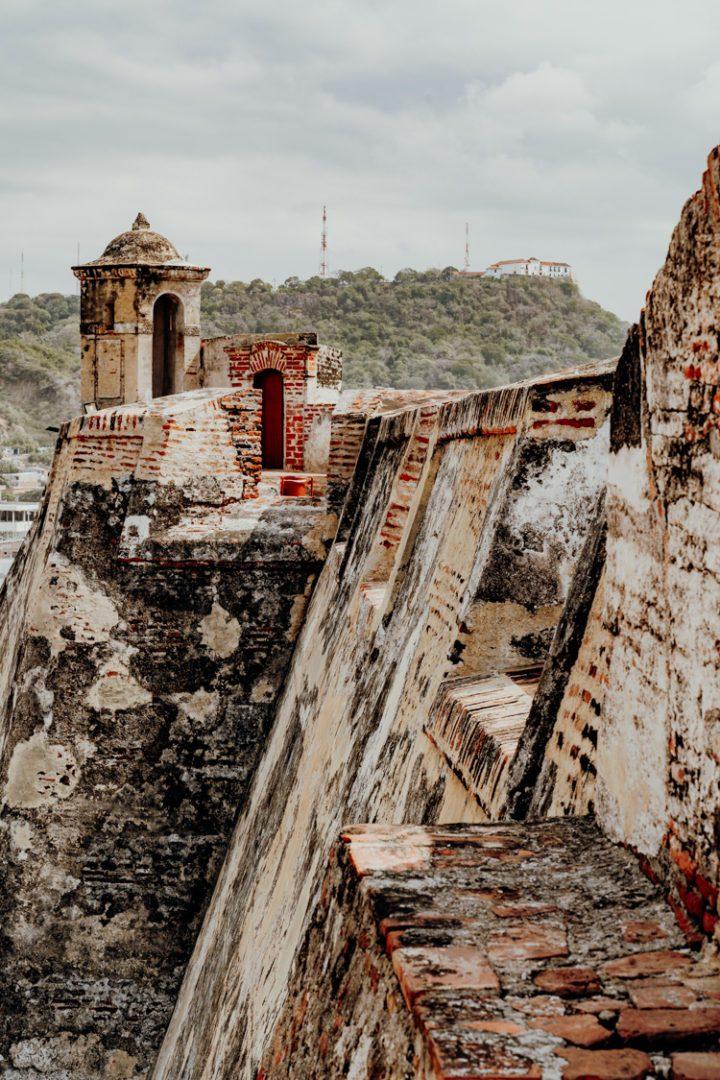 Das Castillo de San Felipe de Barajas in Cartagena