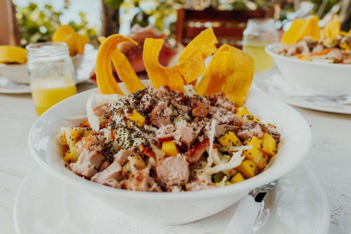 Salat – Sol & Papaya – Isla Grande – Kolumbien