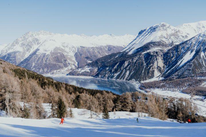 Das Skigebiet Schöneben - Haideralm