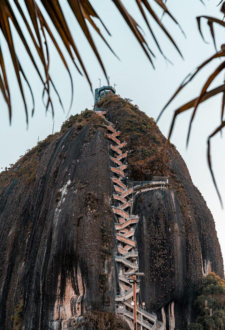 El Peñón de Guatapé Kolumbien