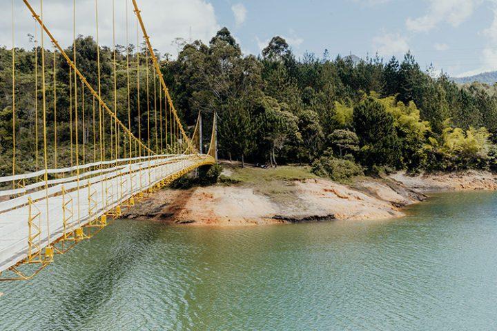 Stausee Peñol-Guatapé Kolumbien