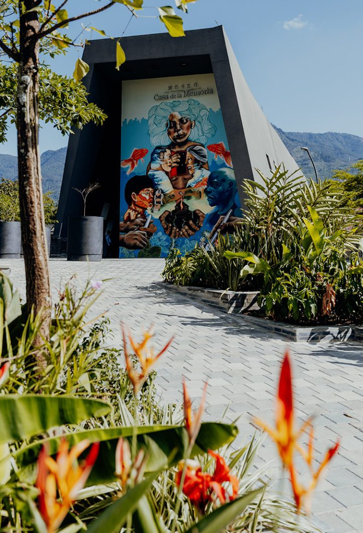 Museo Casa de la Memoria Medellin Kolumbien