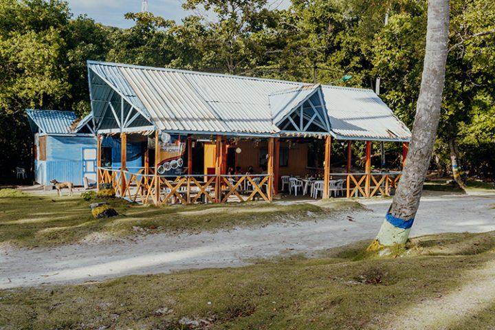Rocky Coctell Bar Providencia Kolumbien