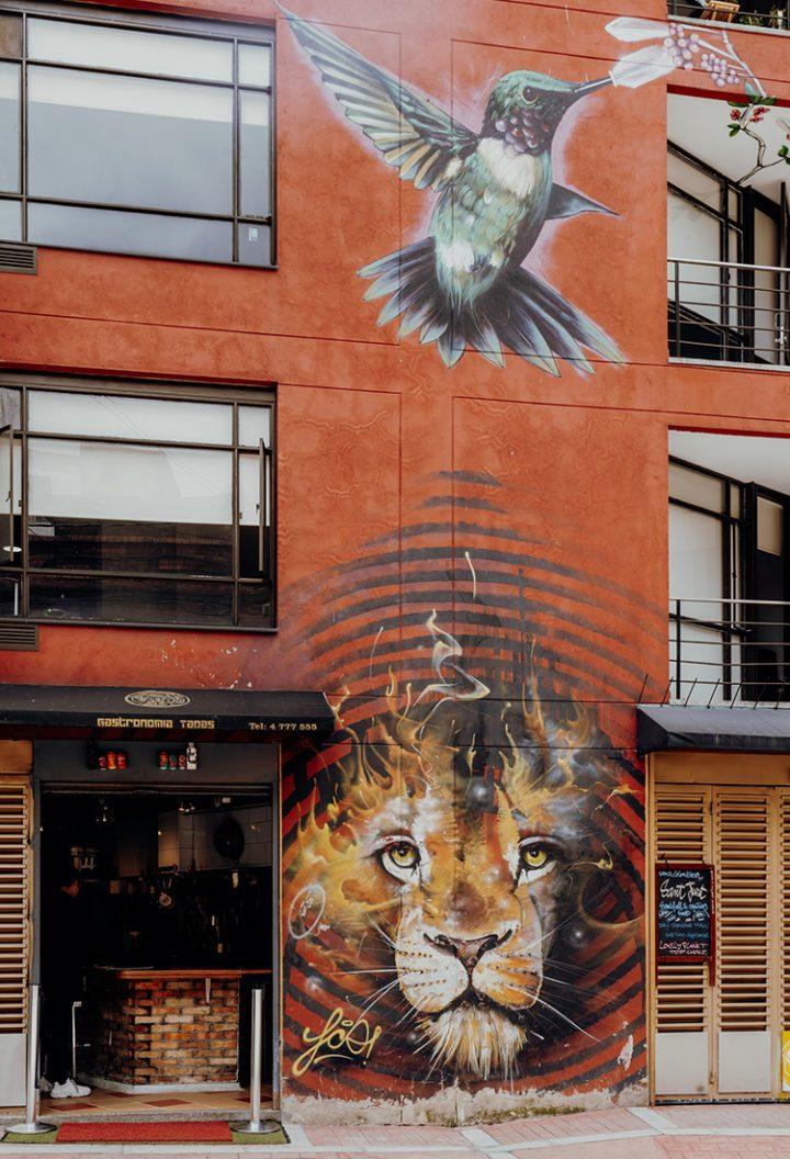 Bogota Graffiti Tour – kostenlose Street Art Tour durch die kolumbianische Hauptstadt