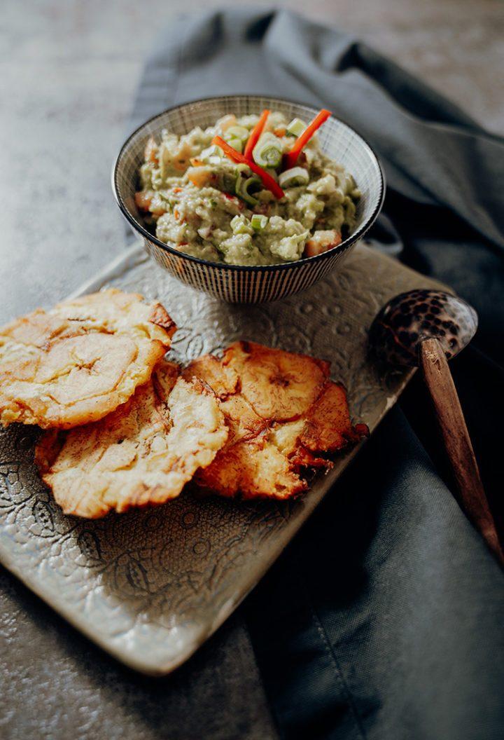 Patacones mit Guacamole – Rezept aus Kolumbien