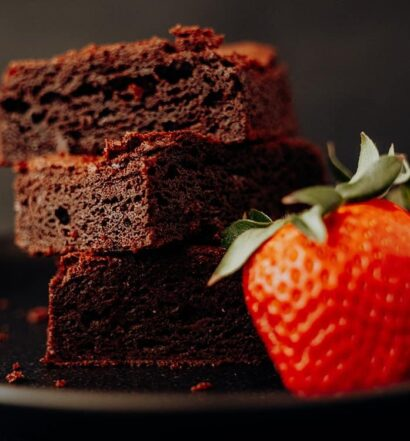 Amerikanische Chocolate Fudge Brownies