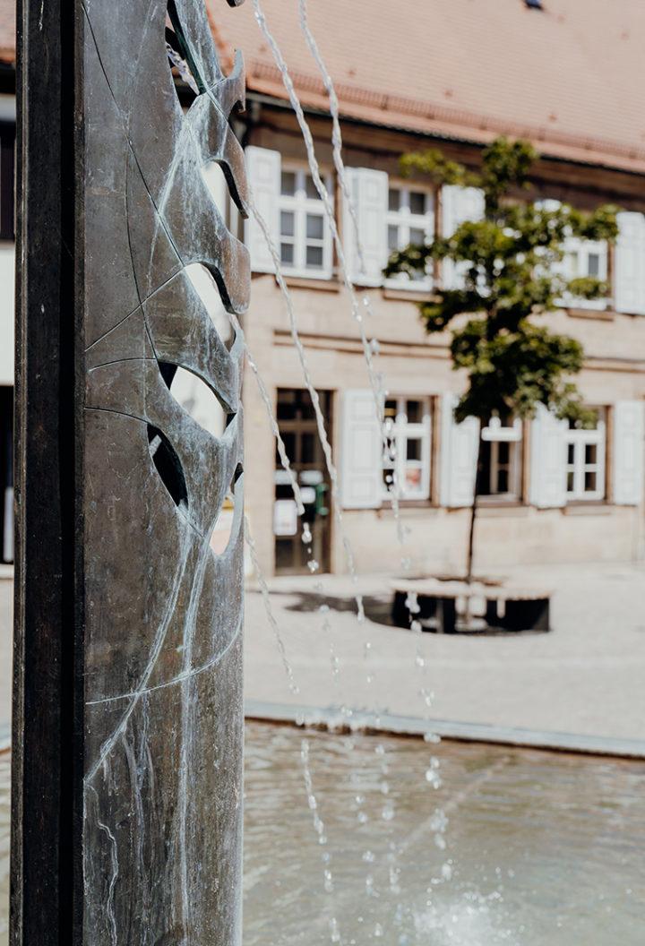 Auf dem Erlebnisradweg Hohenzollern nach Langenzenn