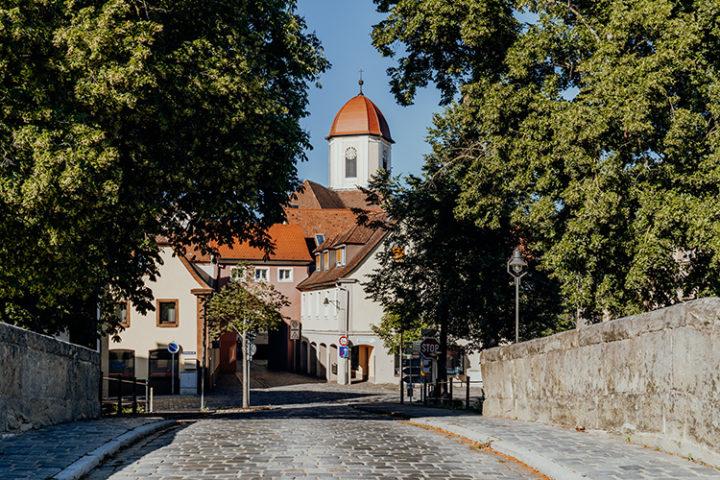 Auf dem Erlebnisradweg Hohenzollern nach Windsbach