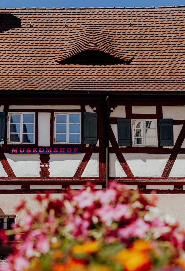 Auf dem Erlebnisradweg Hohenzollern nach Roßtal