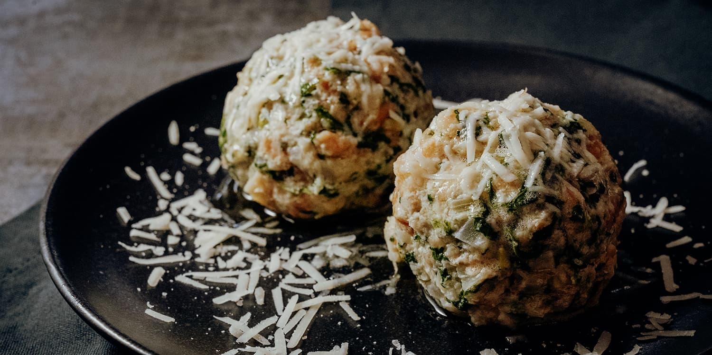 Südtiroler Spinatknödel Rezept