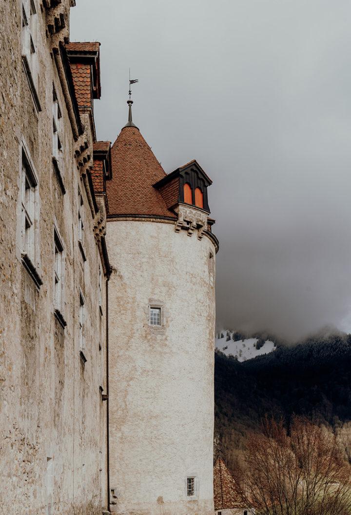 Die schönsten Sehenswürdigkeiten in Gruyères – das Schloss Greyerz