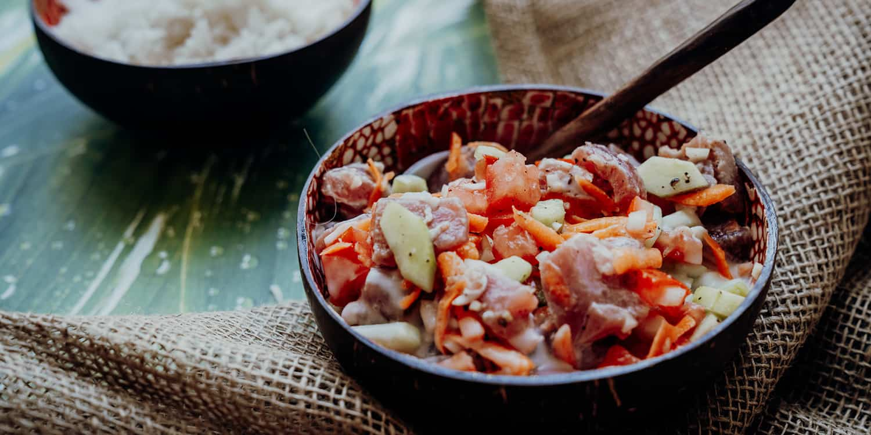 Poisson cru à la Tahitienne – polynesische Ceviche