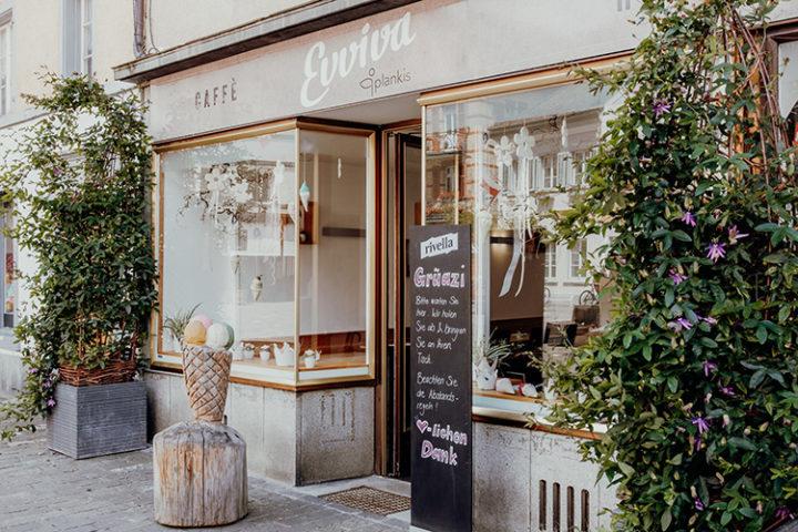 Gönne Dir ein leckeres Eis bei Evviva in Chur