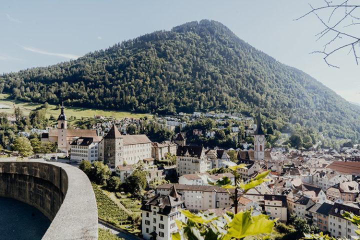 Genieße den schönsten Ausblick über Chur vom Haldenhüttli