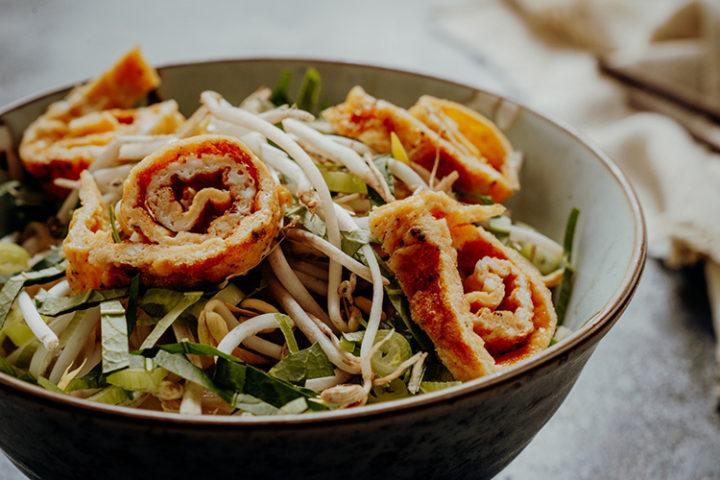 Kua Mee – gebratene Nudeln aus Laos