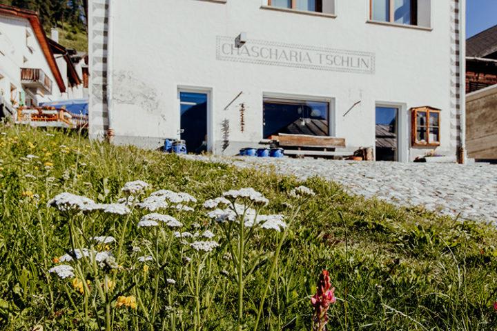 Cascharia Che Chaschöl Tschlin Engadin Graubünden