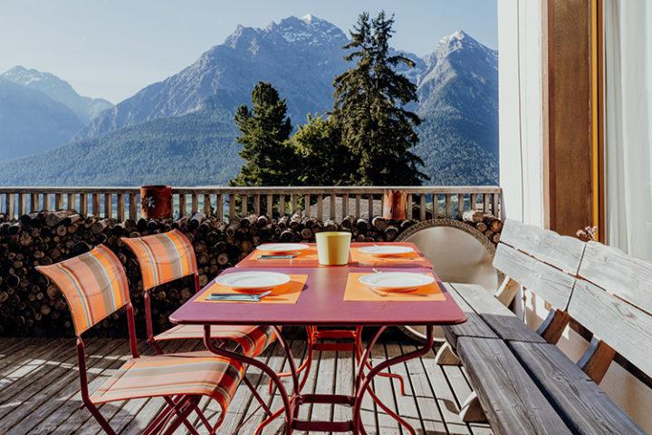 Hotel Bellavista Ftan Engadin Graubünden