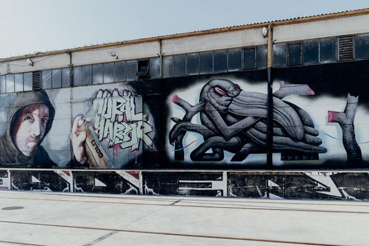 Mural Harbour Tour Linz