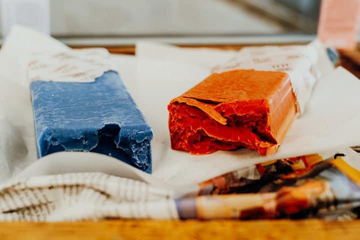 Frische Seifen im Culinarium Alpinum