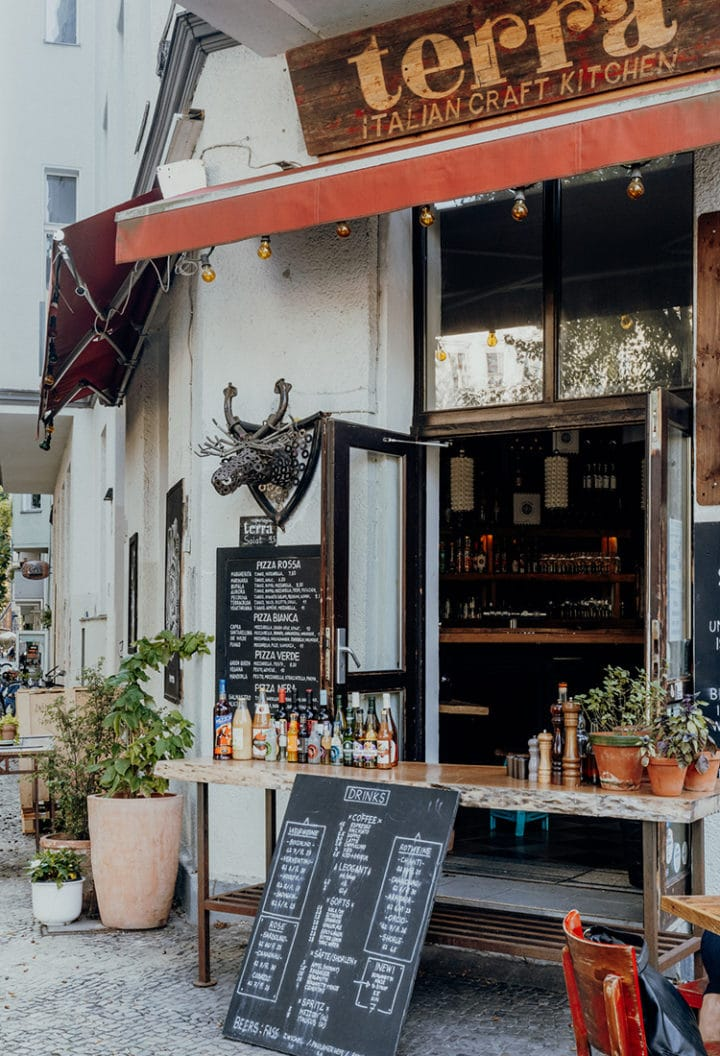 Cafés & Restaurants in Berlin – Terra