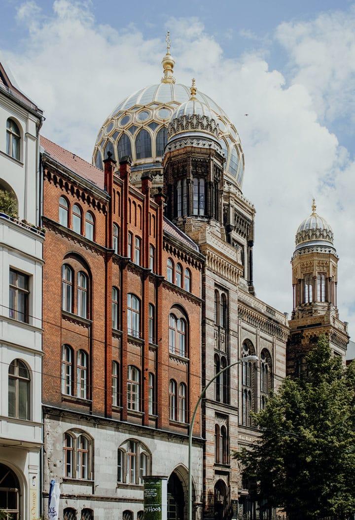 Die Neue Synagoge Berlin