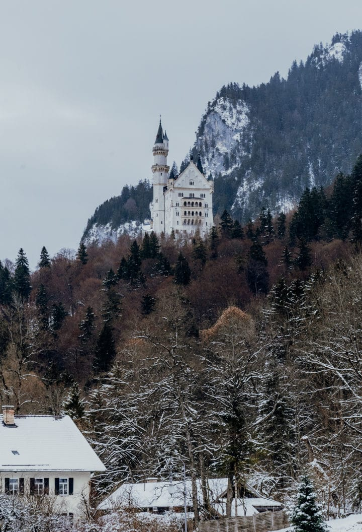 Schloss Neuschwanstein in Hohenschwangau im Allgäu