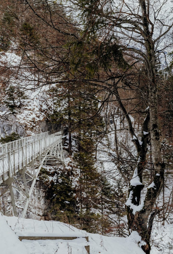 Die Marienbrücke über die Pöllatschlucht