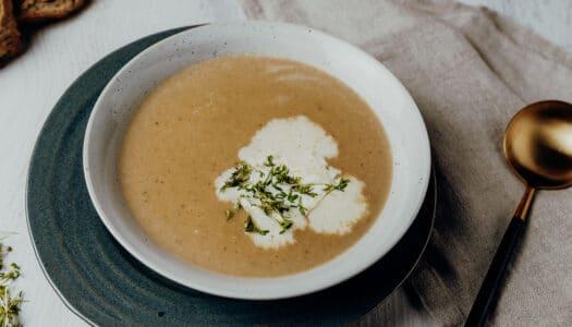 Cremige Maronensuppe mit Noilly Prat