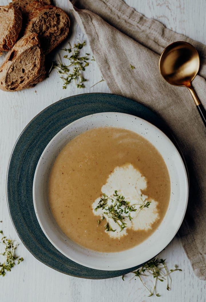 Französische Maronensuppe