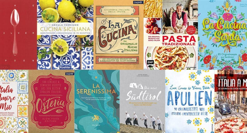11 italienische Kochbücher, die in Deiner Küche nicht fehlen sollten