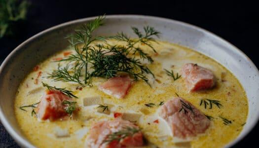 Lohikeitto – Finnische Lachssuppe