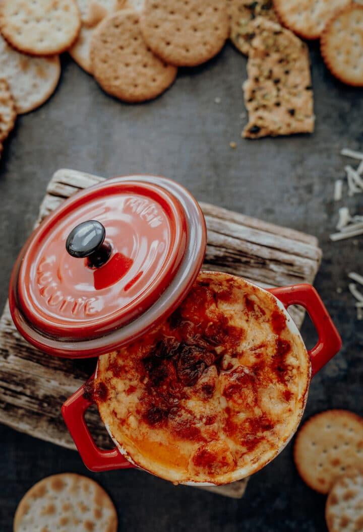 Cheesy Lobster Dip mit Le Gruyère AOP
