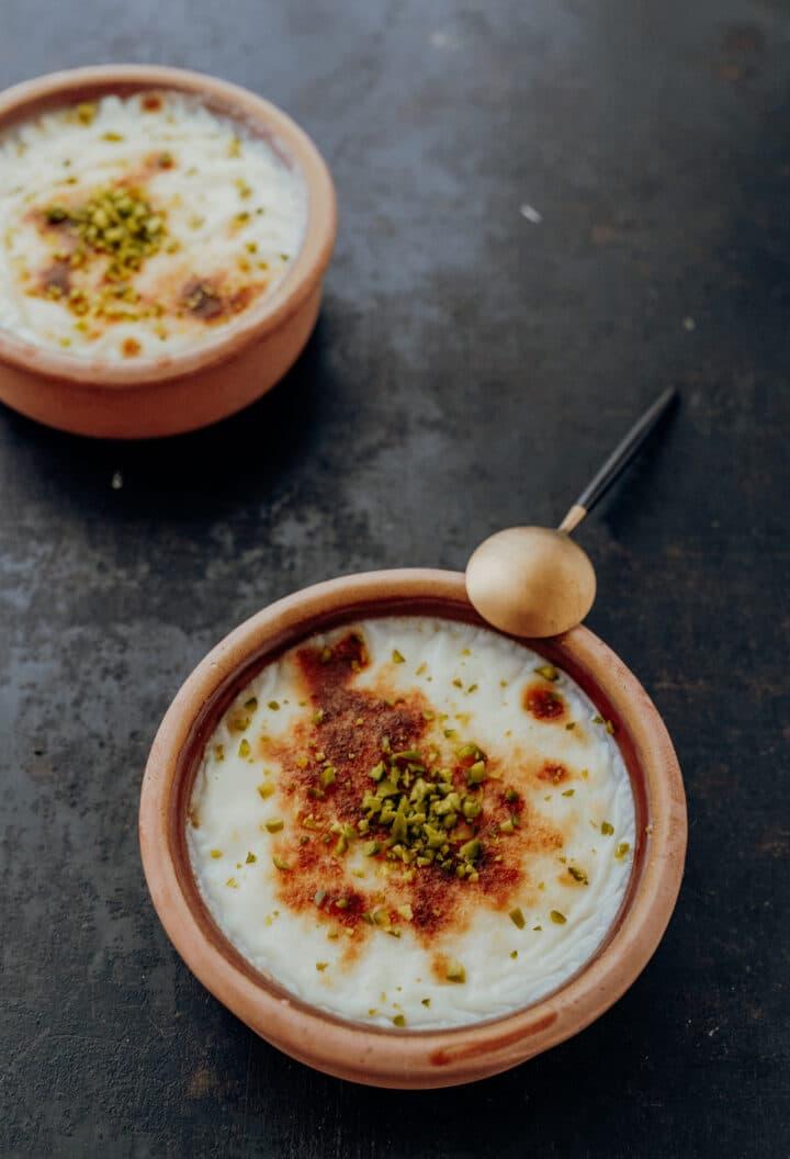 Sütlac – Türkischer Milchreis