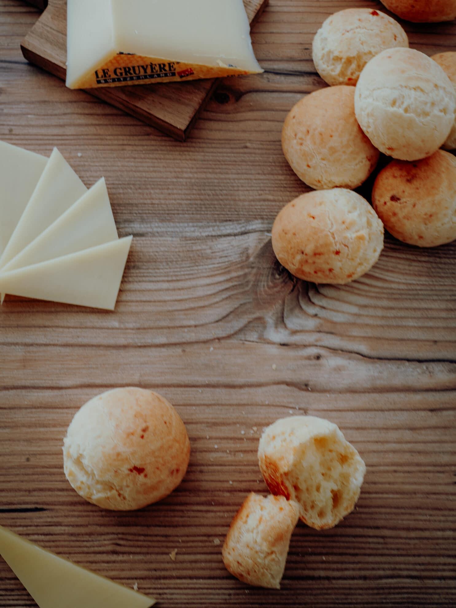 Pão di Queijo Rezept – Brasilianische Käsebrötchen