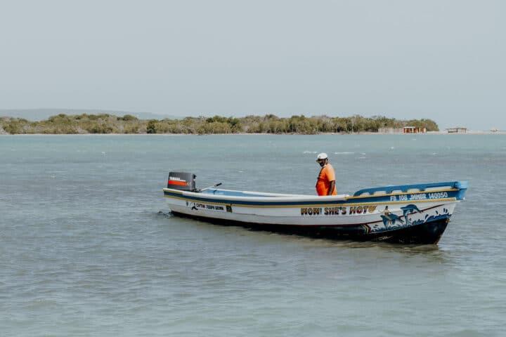 Eine Bootstour ab Treasure Beach mit Captain Joseph