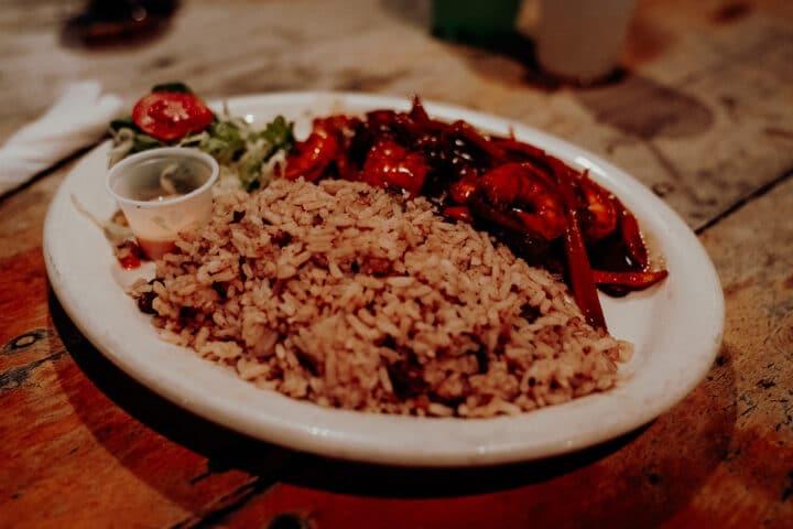 Essen und Movie Night im Jack Sprat Restaurant