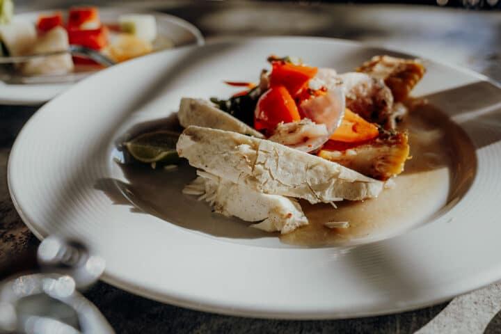 Saltfish mit Breadfruit