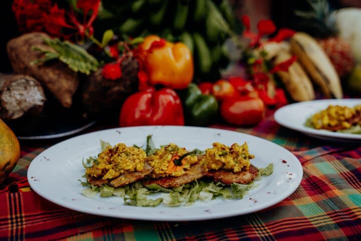 Jamaikanisches Ackee Curry