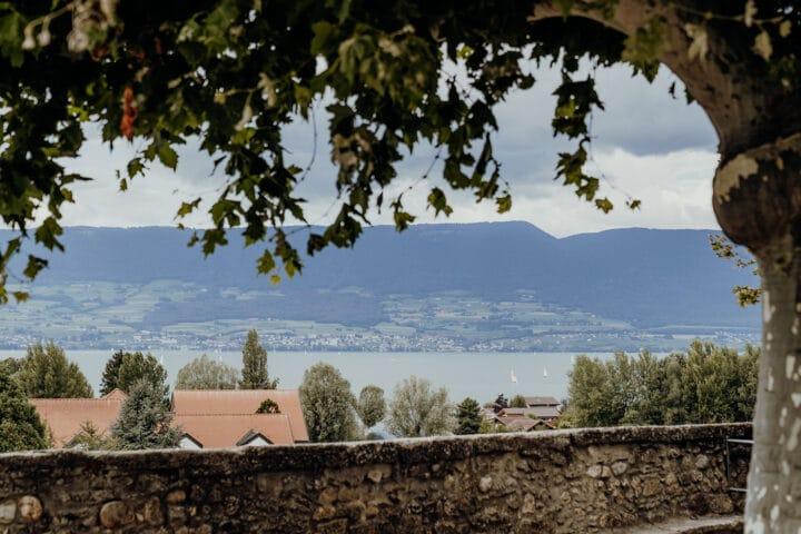 Die historische Altstadt von Estavayer-le-Lac