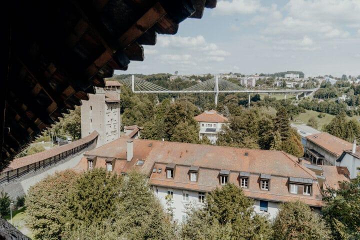 Das Murtentor in Fribourg