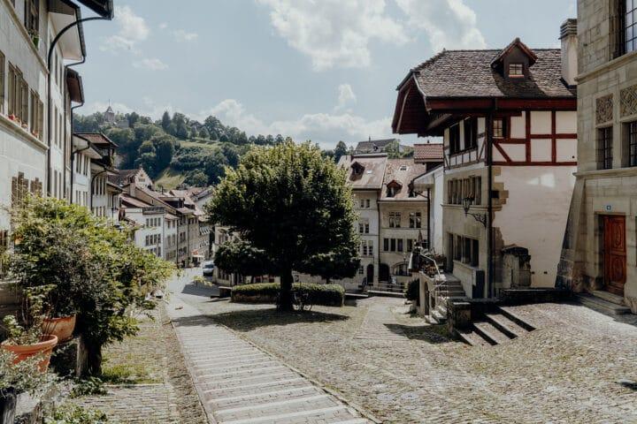 Die Altstadt von Fribourg