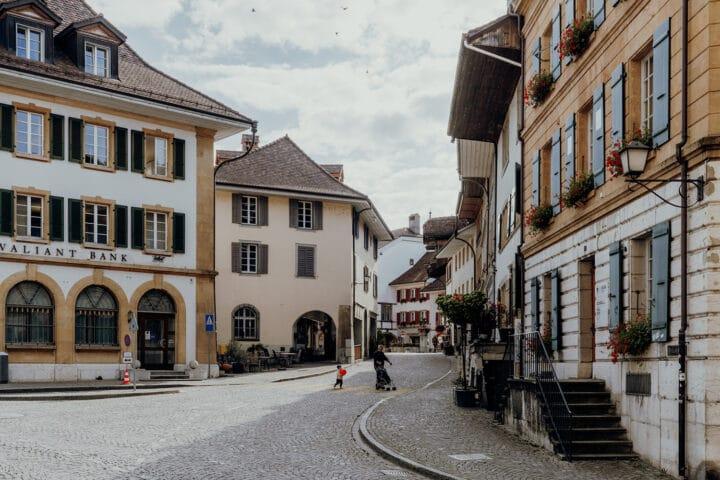Die Altstadt von Murten