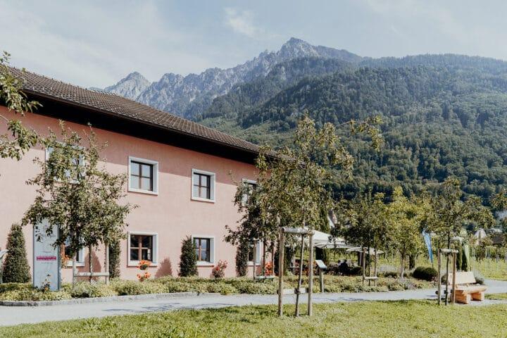 Zu Gast in der fürstlichen Hofkellerei in Vaduz.