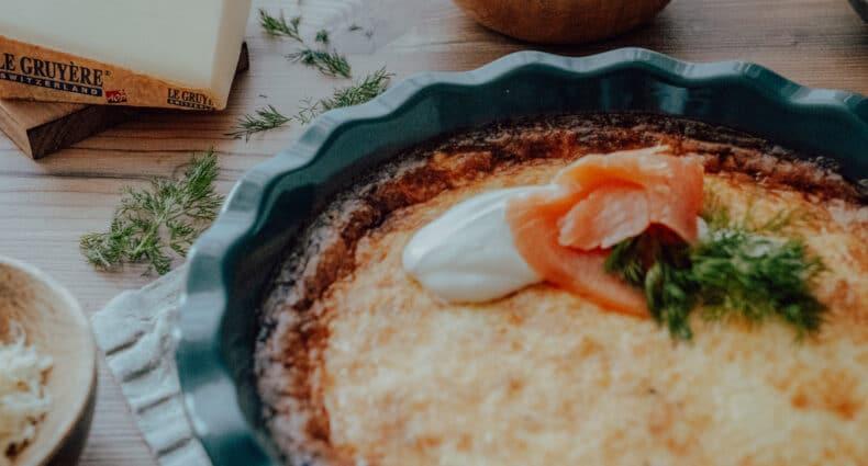 Västerbottenpaj – Schwedische Käse-Quiche mit Le Gruyère AOP