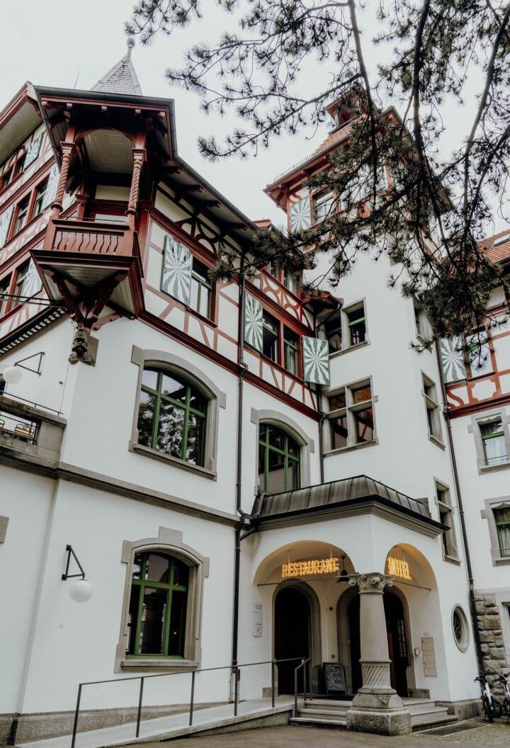 Die Militärkantine in St. Gallen