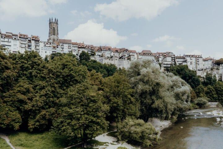 Sankt Johann Brücke Fribourg