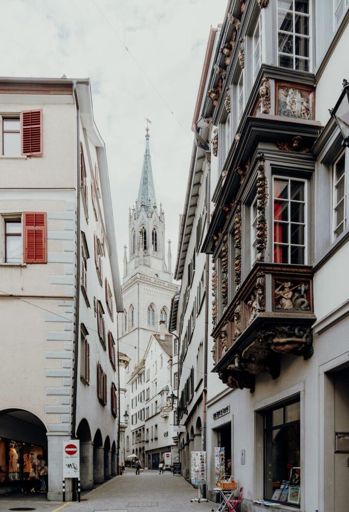 Die Gallusstadt St. Gallen